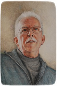 Ett porträtt i en annan teknik.P-O Lorentzi