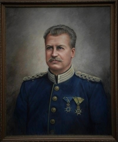 major målning