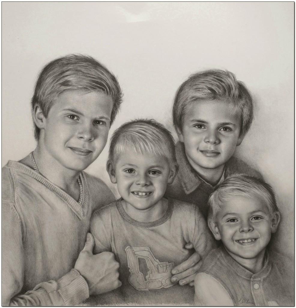 syskonporträtt bloggen