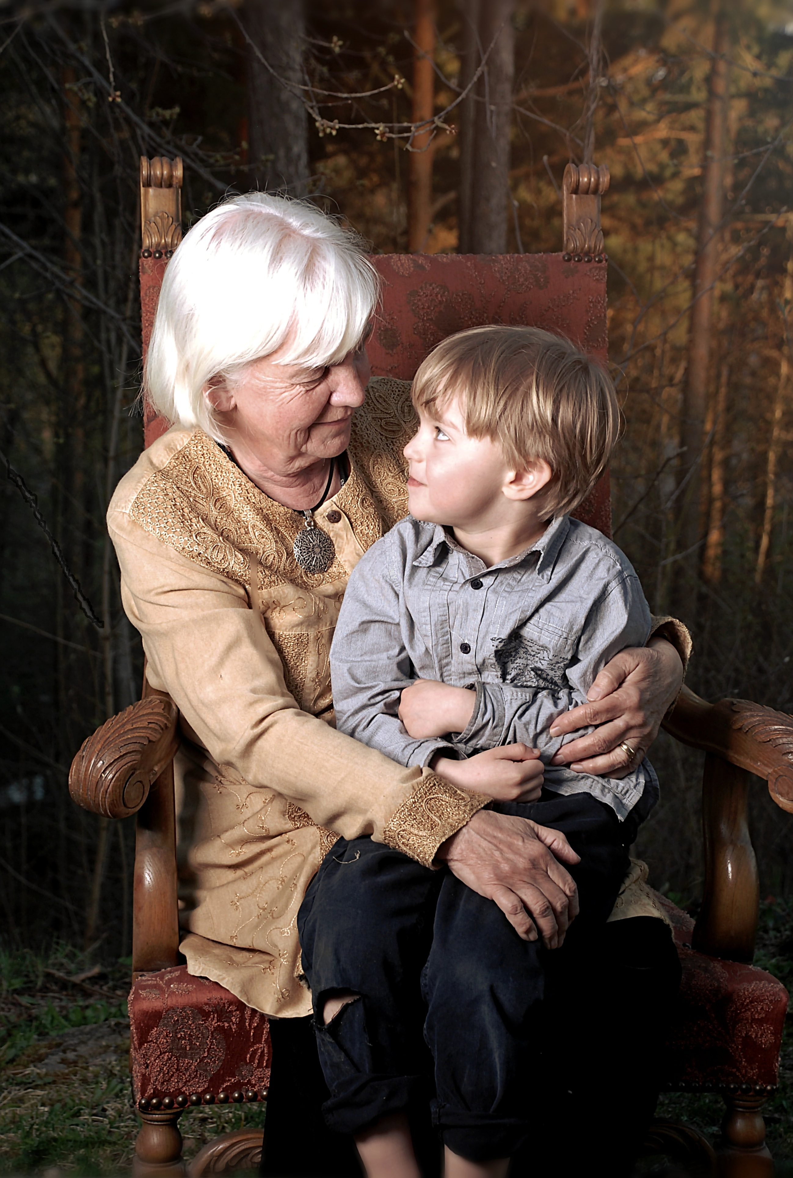 mormor och samuel