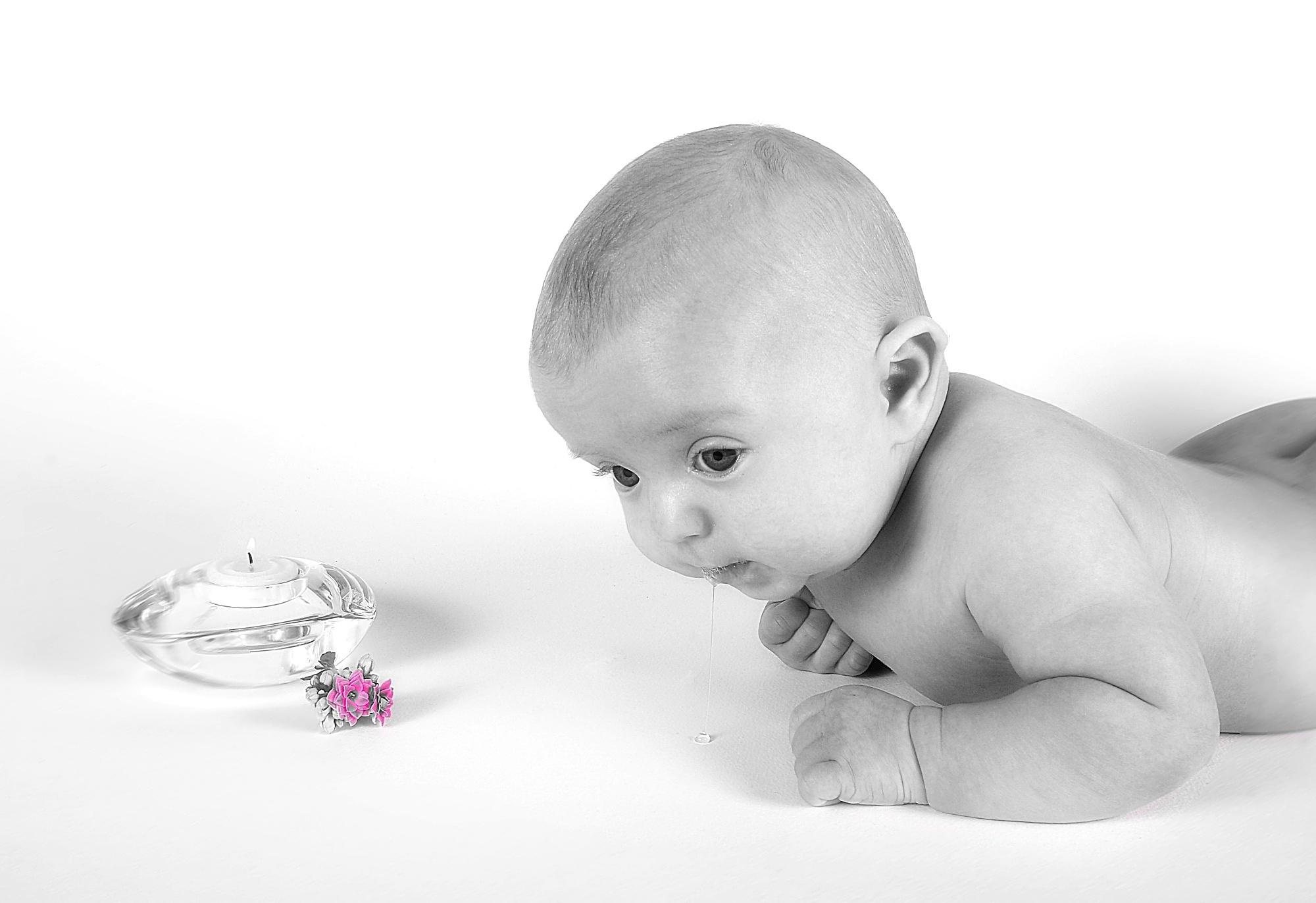 Babyporträtt
