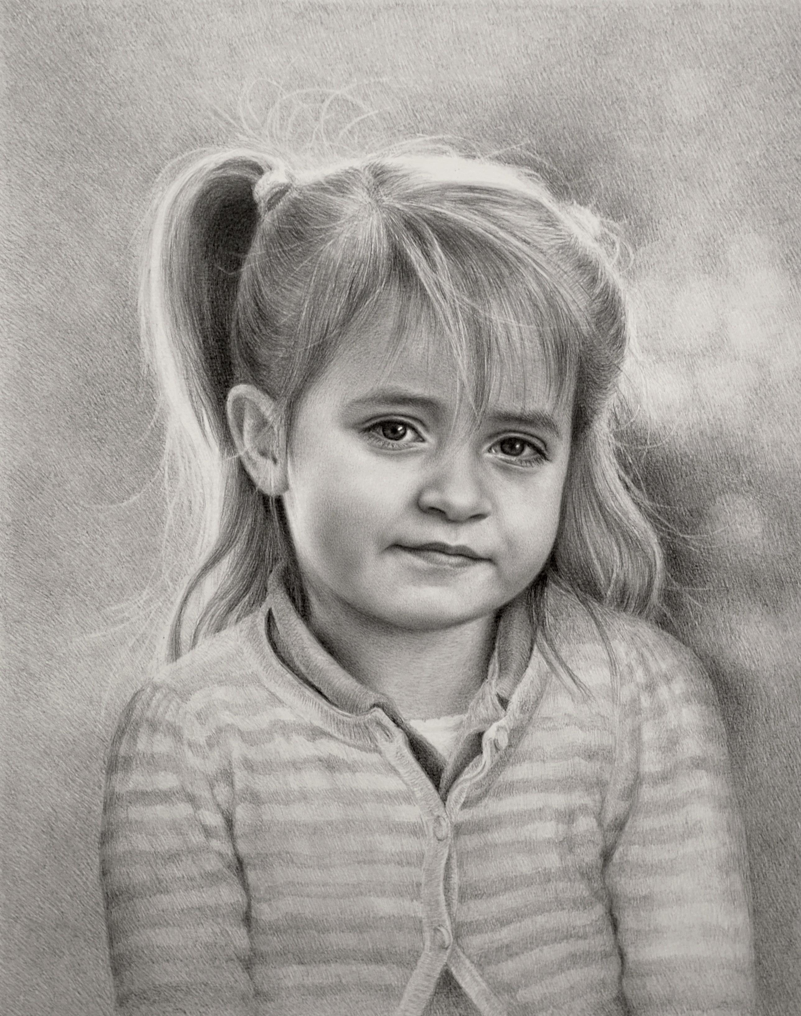 portratt i blyerts