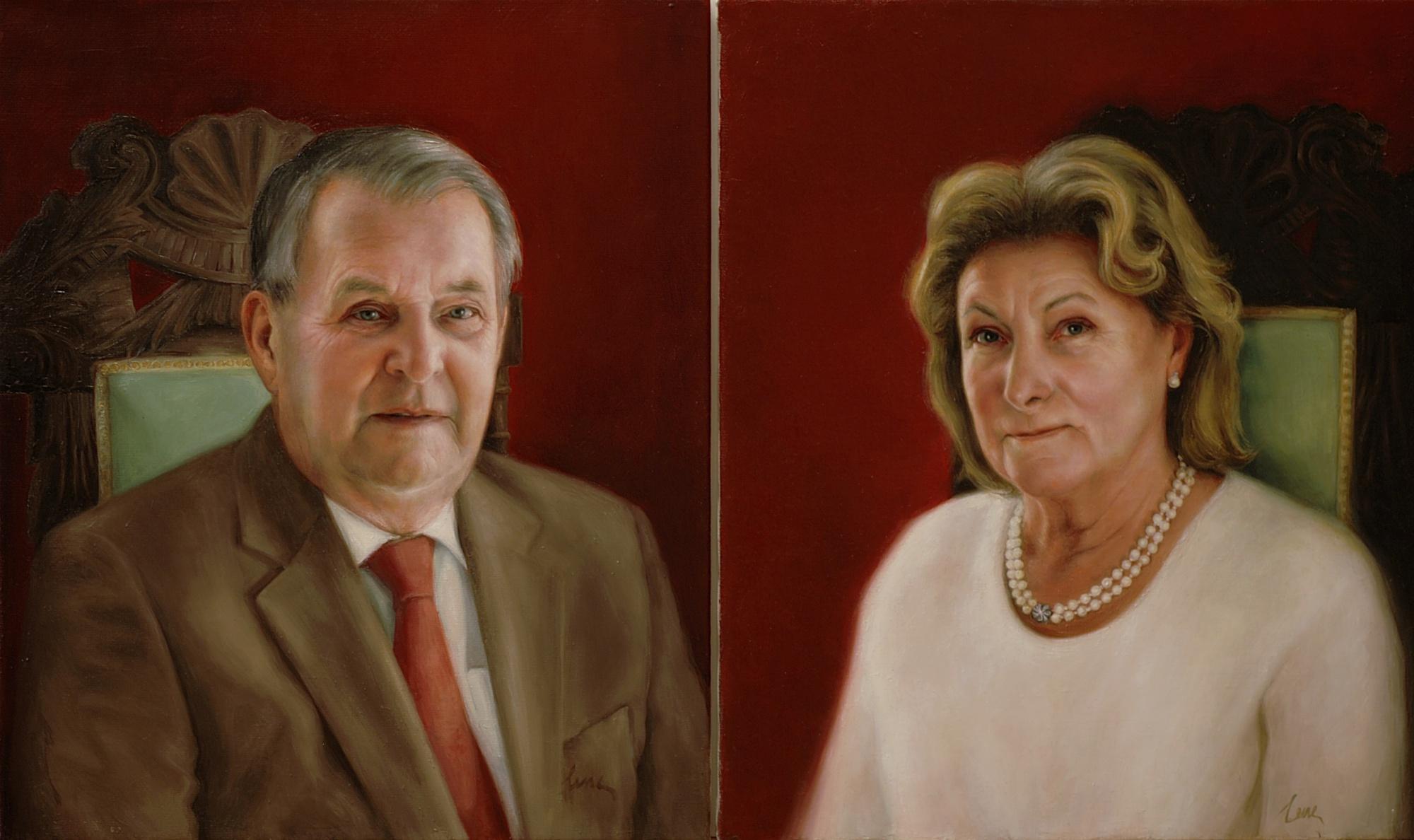 malning portratt